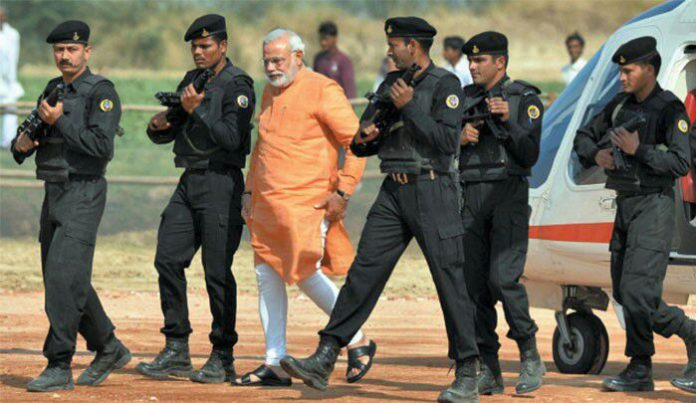 Prime Minister's Security Cycle and Strict