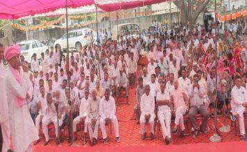 चलो गांव की ओर कार्यक्रम के तहत राजेश नागर ने सुनी ग्रामीणों की समस्या...
