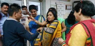 वेट्रेन्स इंडिया की उ प्र शाखा द्वारा कमांड्स हॉस्पिटल में राखी पर्व आयोजित
