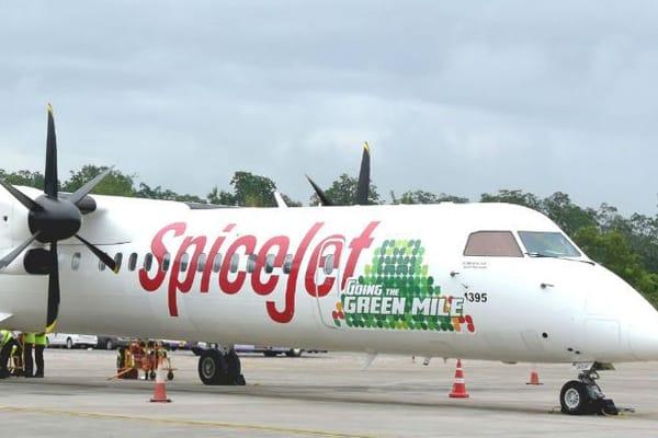 India's first biofuel test flight