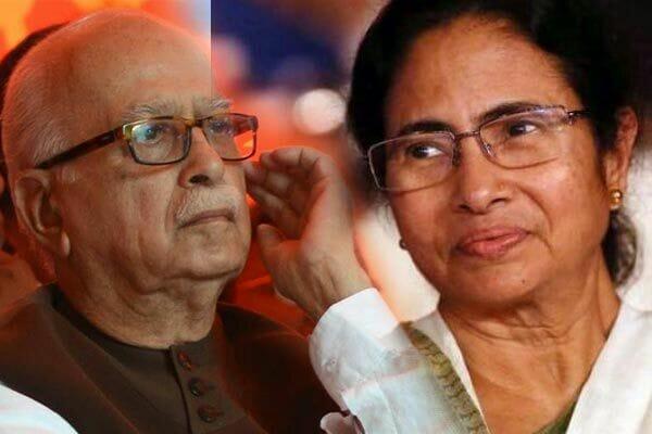 Mamata's meeting with Advani