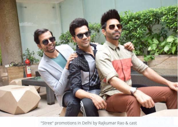 Rajkumar Rao Cast Stree Promotions