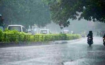 दिल्ली एन सी आर समेत उत्तर प्रदेश में आज भारी बारिश की संभावना..