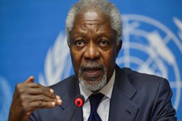 United Nations Secretary General Kofi Annan