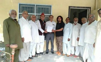 विजय कुमार वेट्रेन्स इंडिया के जिला महासचिव नियुक्त