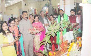 श्री बांके बिहारी मंदिर में तुलसी विवाह सम्पन्न