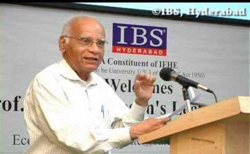 अर्थशास्त्री श्रीनिवासन का 85 साल की उम्र में निधन
