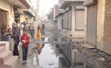मूलभूत सुविधाओं के अभाव में क्षेत्रवासियों का जीवन हुआ अस्त-व्यस्त