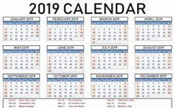साल 2019 : जानिए- इस साल कब-कब होगी छुट्टी...