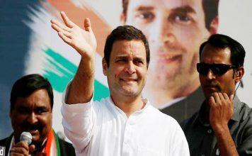 क्या लेजर गन के निशाने पर थे राहुल गांधी? वीडियो viral
