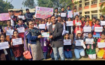 "नेहरू कॉलेज में चलाया ""लोकतंत्र हो महान, जब हो जागरूक मतदान"" अभियान"