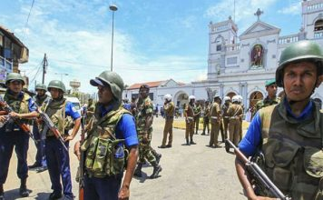 श्रीलंका में आज रात से आपातकाल लागू, कोलंबो बस अड्डे पर 87 बम मिले