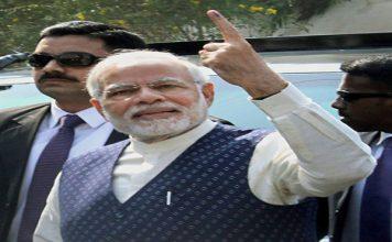 प्रधानमंत्री नरेन्द्र मोदी का लोगों से भारी संख्या में मतदान करने का आग्रह