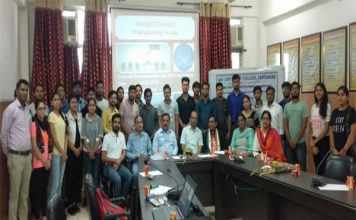 DAV कॉलेज में ब्रेन स्ट्रोमिंग पर एक दिवसीय कार्यशाला का आयोजन
