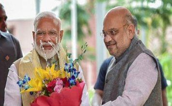 बढ़त के बाद BJP में जश्न का माहौल, पार्टी दफ्तर आ सकते हैं PM मोदी