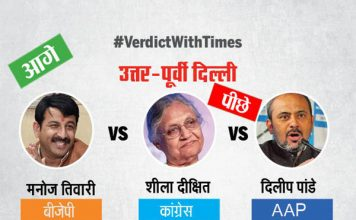 दिल्ली लोक सभा चुनाव 2019 परिणाम : रुझानों में सभी 7 सीटों पर बीजेपी आगे