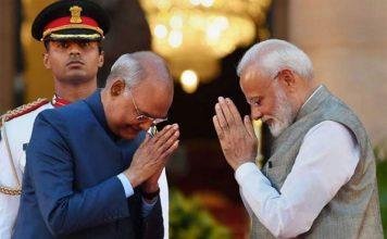 दूसरी बार हुआ नरेंद्र मोदी का राजतिलक, 57 मंत्रियों ने भी ली शपथ