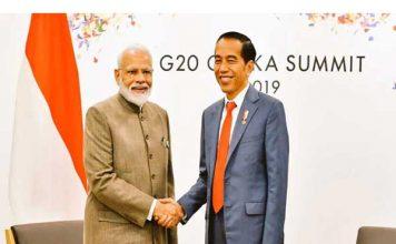 प्रधानमंत्री नरेन्द्र मोदी ने इंडोनेशिया और ब्राजील के राष्ट्रपतियों के साथ की बैठक