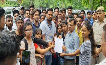खट्टर सरकार ने छात्रों पर जमकर किए अत्याचार : कृष्ण अत्री