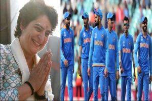 Priyanka congratulates Team India for the semi-finals