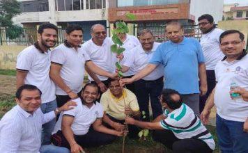 राजस्थान एसोसिएशन ने पार्क को लिया गोद