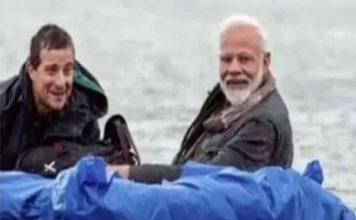 बर्फीली नदी में चलाई PM मोदी की नाव, ग्रिल्स बोले- हिमालय का पानी बेहद ठंडा
