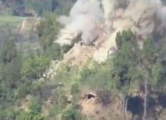 LOC पर कई बंकर तबाह