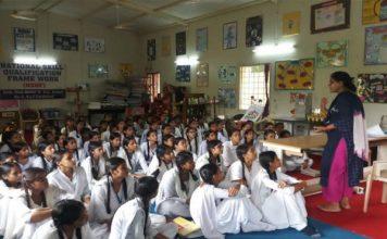 छात्राओं को करियर के प्रति किया जागरूक