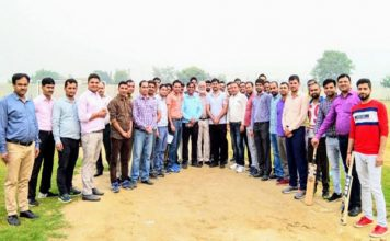 MVN विश्वविद्यालय द्वारा एक दिवसीय क्रिकेट मैच का आयोजन