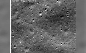 नासा को दिखा विक्रम लैंडर, तीन टुकड़ों में चांद पर बिखरा मिला