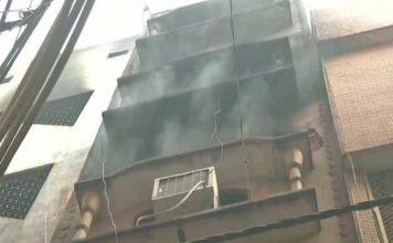दिल्ली : कल जिस इमारत में आग लगने से 43 लोगों की हुई मौत, आज फिर उसी बिल्डिंग में लगी आग